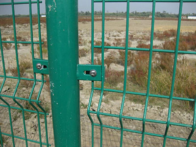 Double Wire End Fence